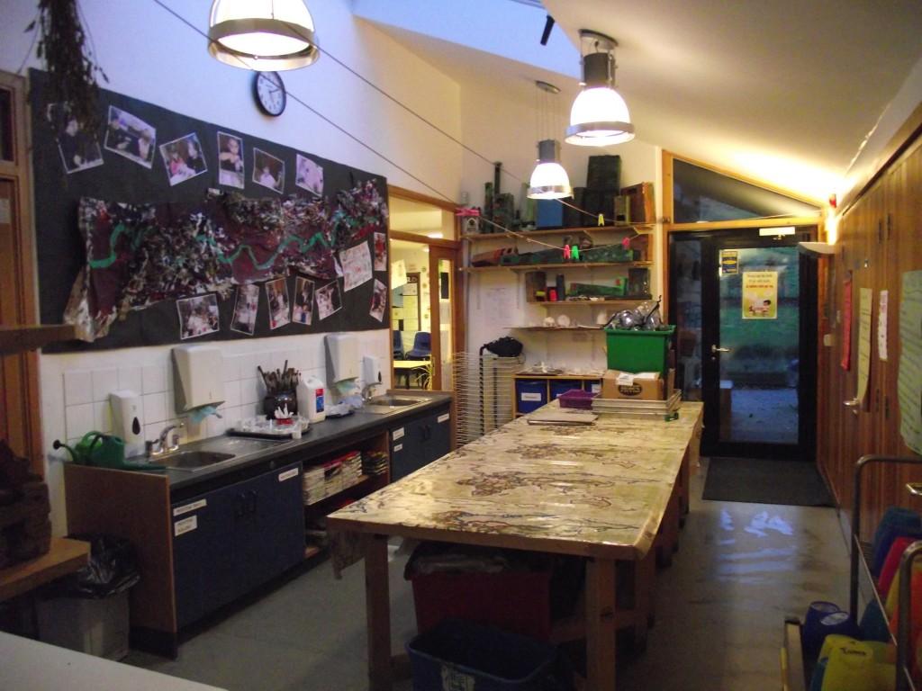 12. Junior art area