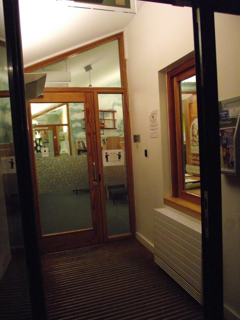 3. Main entrance